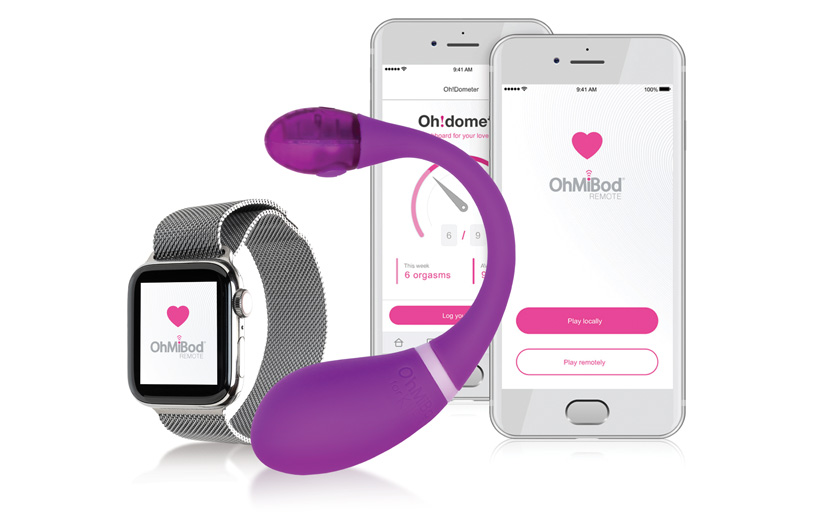 app connected ohmibod