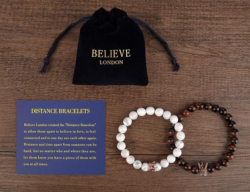 Believe London Distance Bracelets