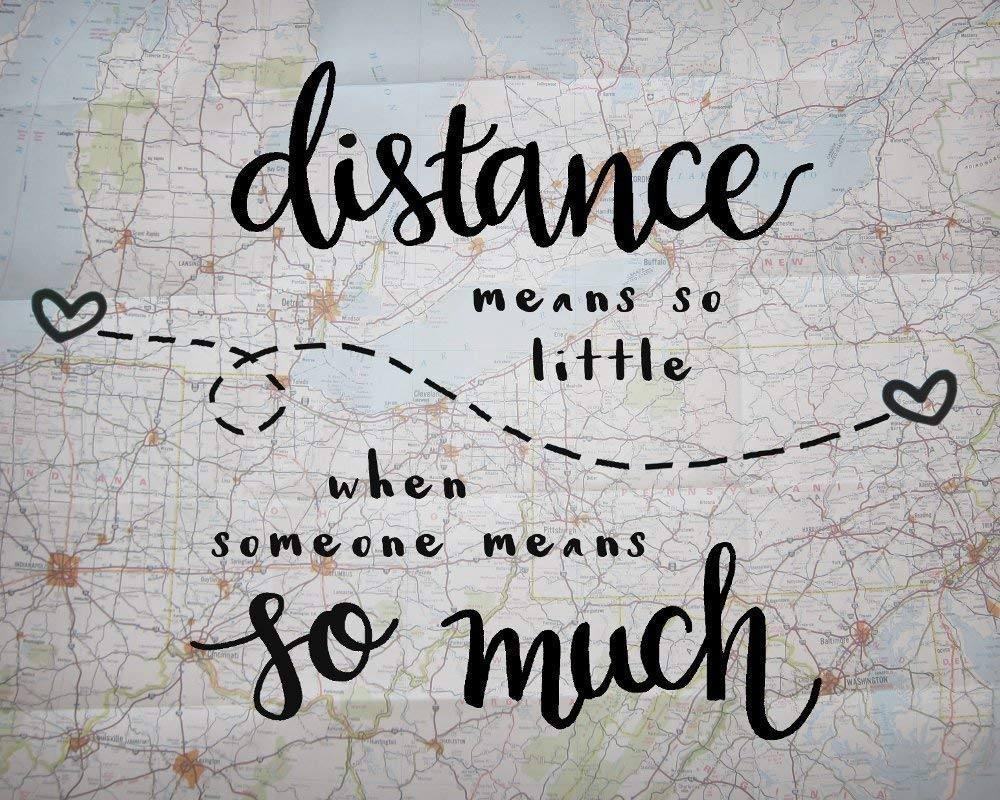Print Distance Means So Little