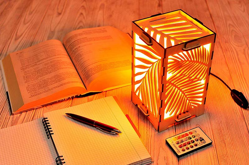 gift longdistance lamp view