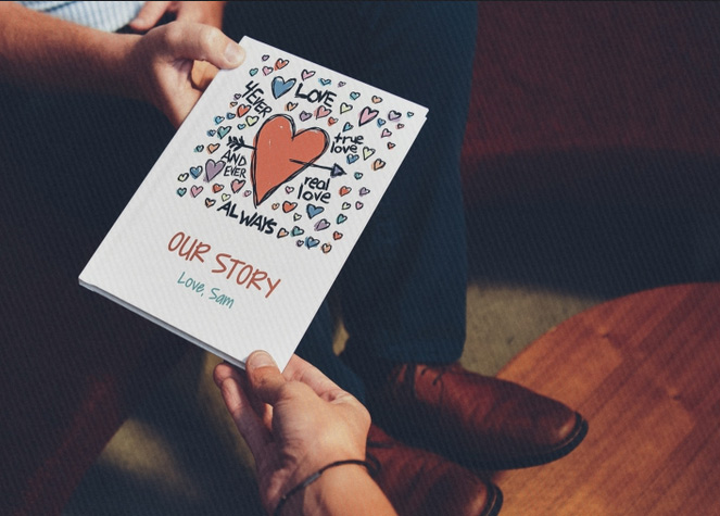 lovebook personalized gift ldr